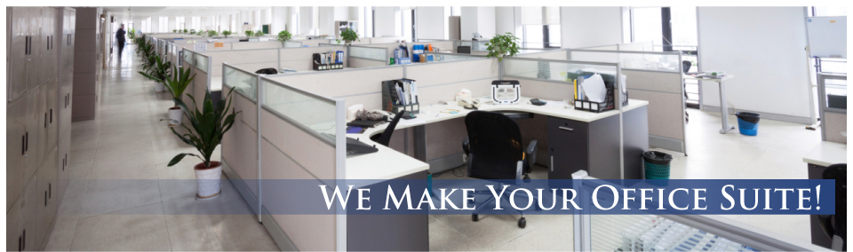 We Make Your Office Suite! - office cubicles